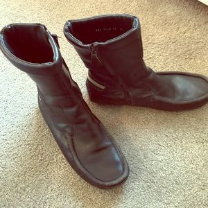 Gucci Loafer Boots Sz 37